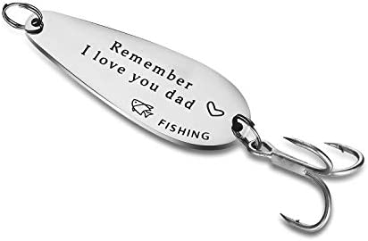 Udobuy Personalized Fishing Lure Gift from Daughter or Son Gift for Dad Father Gift Dad Gift product image
