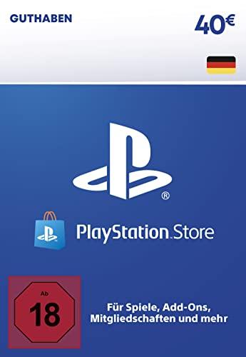 PSN Guthaben-Aufstockung   40 EUR   deutsches Konto   PS5/PS4 Download Code
