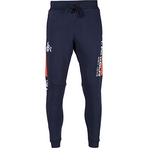 uhlsport 1.FC Köln Sportswear Hose Freizeit 19/20 Jogginghose Blau, Bekleidungsgröße:S