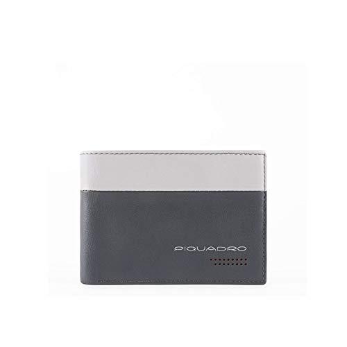 Piquadro Urban RFID portemonnee grijs/zwart