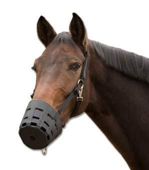 TPU Maulkorb EasyClean, schwarz, Pony