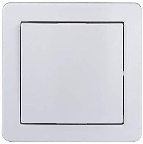 Schneider Electric SC5SHN0262420P Abdeckung mit Fleece-Rahmen, Weiß