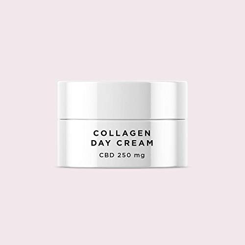 MIKKA Collagen Day Cream - Combat Visual Signs of Ageing - Includes Collagen, Vitamin E, Hyaluronic Acid & Argan Oil - 50ml