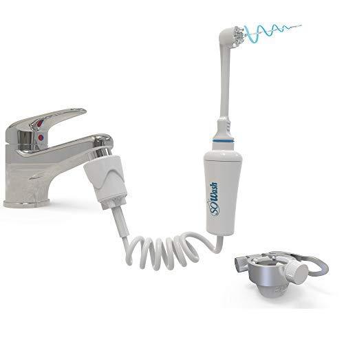 SOWASH - TRAVEL - Irrigador para la higiene oral conectable al grifo