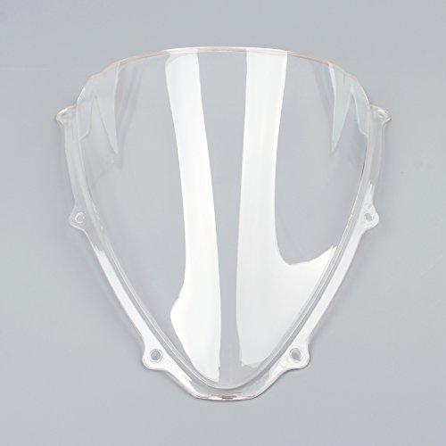 Topteng Motorcycle Windscreen Windshield for Suzuki GSXR 600 750 06-2007 K6