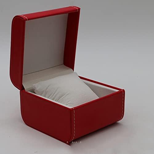 SMOOTHLY Watchbox, Caja de Pulsera de PU de una Pieza, Caja de Regalo, Muy Adecuado Año Nuevo (2 Piezas)