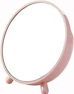 Foldable Vanity Compact Mirror with Light 10x Illuminated Magnifying Led Lighted Makeup Mirror for Comestic Beauty (Color : 20 20 10cm)