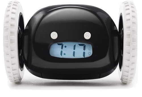 Clocky Alarm Clock on Wheels (Original) |Extra Loud for Heavy Sleeper (Adult or Kid Bed-Room...