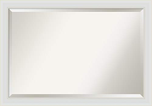 Amanti Art Framed Vanity Mirror | Bathroom Mirrors for Wall | Flair -