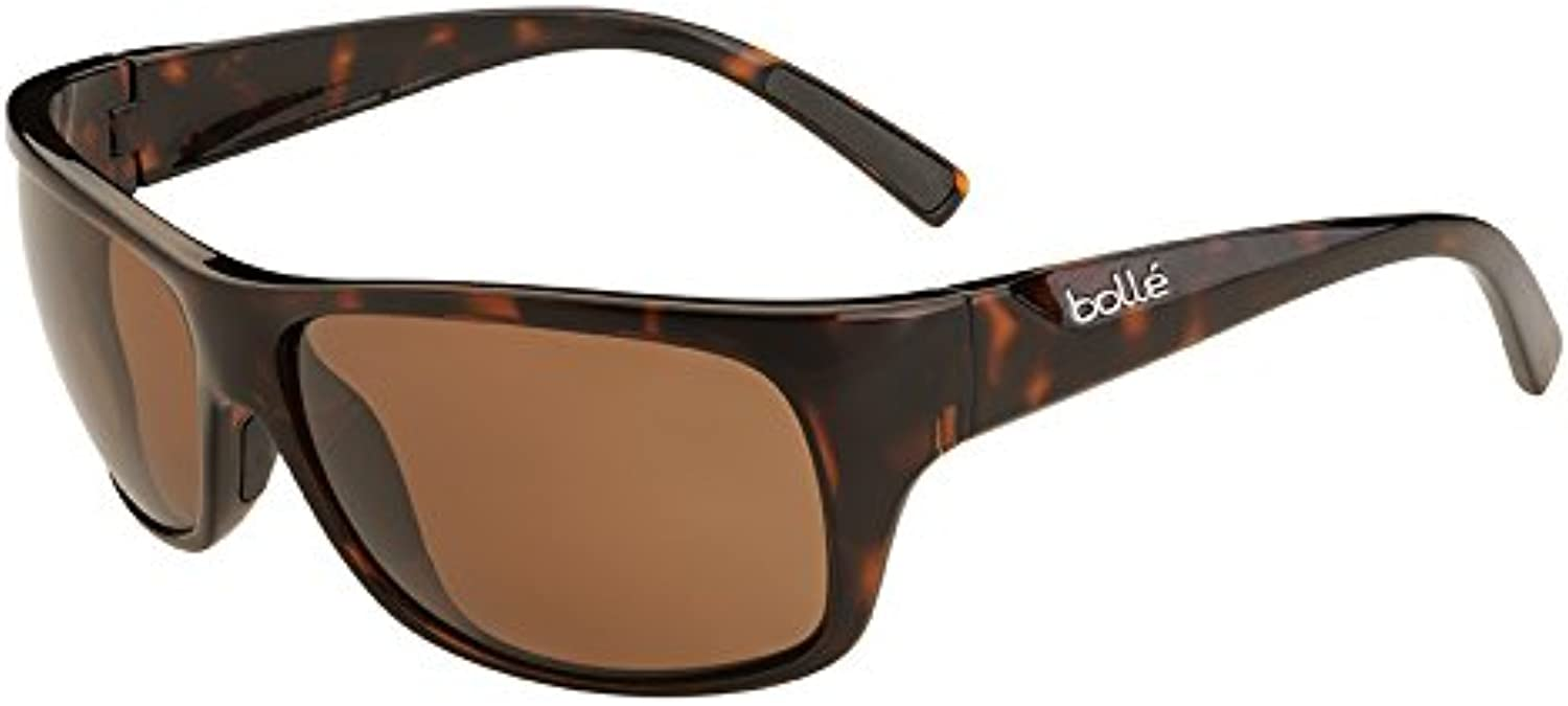 Bolle Viper Sunglass with Polarized A14 Oleo AF Lens, Shiny Tortoise