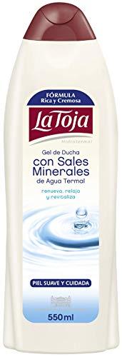 La Toja - Gel Crema de Ducha Hidrotermal - Piel...