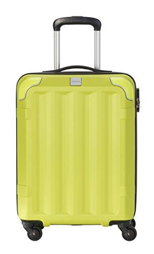 Travelite Corner 4 Rollen Hartschalenkoffer, 55 cm, 40 L, Limone
