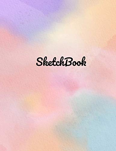 SketchBook : Watercolor SketchBook For Drawing, Writing, Painting, Sketching or Doodling Perfect Sketch books For Artists Gift: 100 Pages 8.5x11