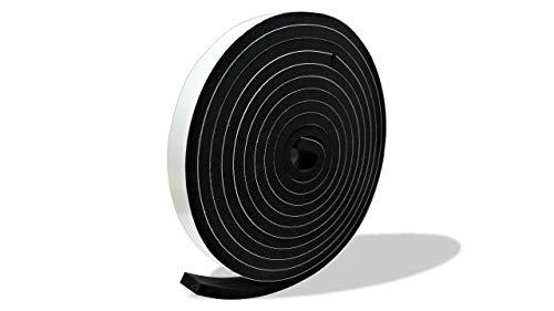 プランプ オリジナル 隙間テープ スキマッチ 黒 ブラック 厚 8 mm × 幅 20 mm × 長 2m 2本入(合計4m) 日本製 ゴムスポンジ 防水 防音 すきま 窓 玄関 引き戸 隙間