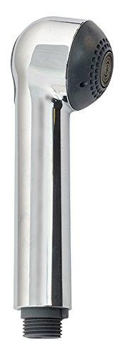 Sanitop-Wingenroth Geschirrbrause Softline mit Rückflussverhinderer, Ersatz-Brause für Küchenarmatur in Chrom, Spülbrause mit ½ Zoll Anschlussgewinde, verchromter Kunststoff, 17764 1
