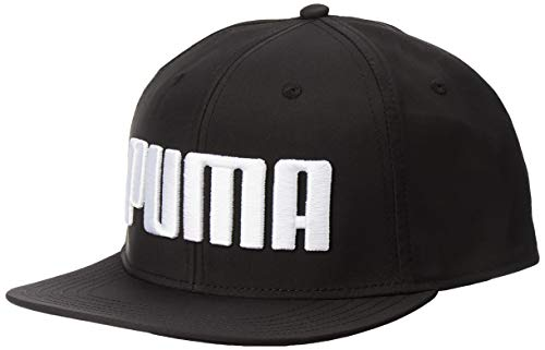 PUMA Erwachsene Flatbrim Kappe, Black, One Size