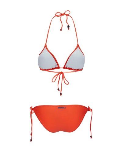 Bench - Bikini Cassie, Slip bikini Donna, Arancione (nasturtium), Large (Taglia Produttore: Large)