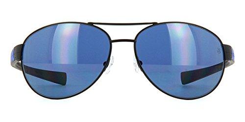 Tag Heuer LRS 0253 404 Gafas de sol polarizadas negro y azul Sonnenbrille 62mm