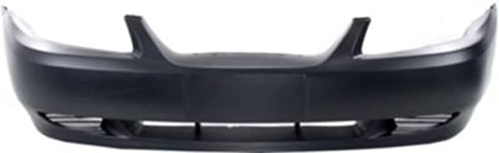 Crash Parts Plus Primed Front Bumper Cover Replacement for 1999-2004 Ford Mustang