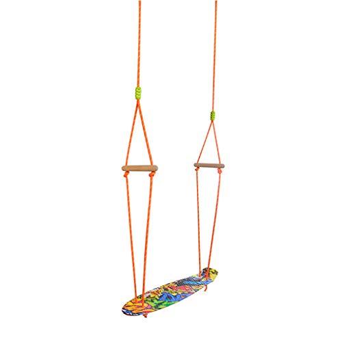Asiento de columpio Juguetes para niños de interior y al aire libre Columpios de patinaje Columpios Swing Swing Entrenamiento deportivo para expandir el swing Jardin al aire libre ( Color : A )