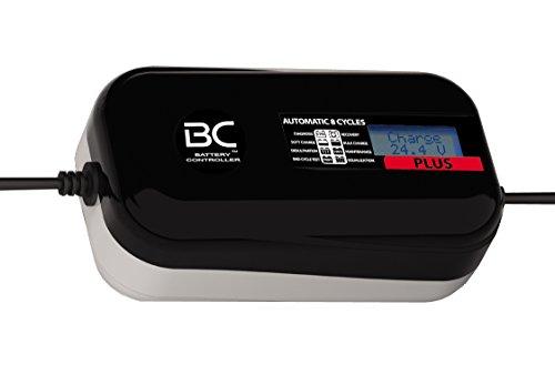 BC PLUS 4000 - 24V 4A - Cargador y Mantenedor de Baterías Digital con 8 Fases de Carga para Baterías 24V de Camiones, Furgonetas y Embarcaciones