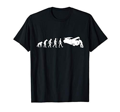 Divertido Regalo Gráfico de Humor de la Evolución Mecánica Camiseta