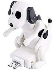 Ysang Ładowanie bezpaństwowego psa, kabel pies zabawka smartfon USB kabel ładowarka, mini Humping Spot zabawka dla różnych modeli telefonów komórkowych typu C przenośna