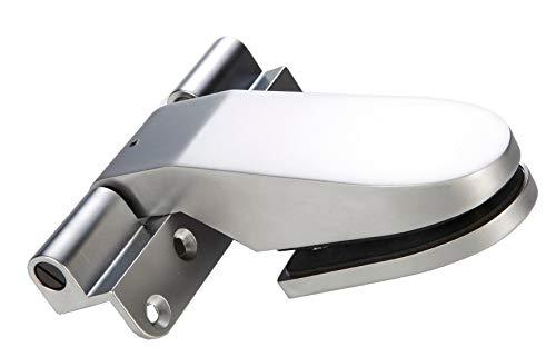 eliga Türband selbstschließend Zungenform matt-chrom, DIN links