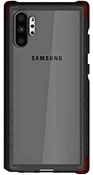 Ghostek Covert Clear Galaxy Note 10 Plus Case with Super Slim Thin Design and Grip Shockproof Heavy Duty Protection and Wireless Charging Compatible for 2019 Galaxy Note10+ 5G  6.8 Inch  -  Smoke