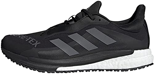 adidas Men's Solar Glide 4 GTX M Competition Running Shoes, core Black/Grey Four/FTWR White, 9 UK