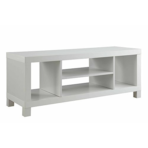 "Generic- Mainstays TV Stand for TVs up to 42"", Multiple Colors White"
