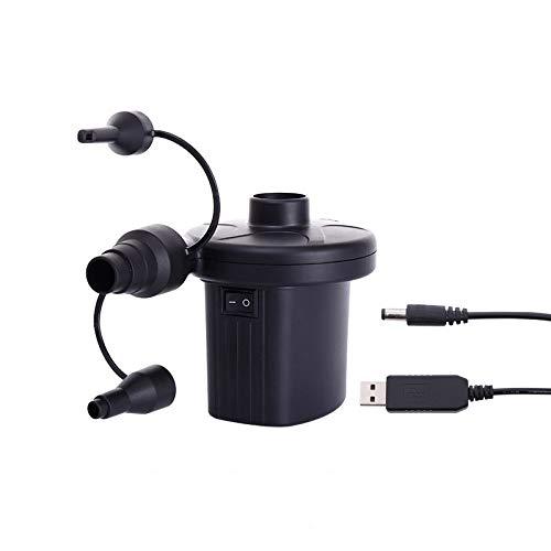 shangji Elektrische Pumpe für Planschbecken Poolpumpe Schwimmbadpumpe Luftbettpumpe Luftbettpumpe elektrische Luftpumpen für Schlauchboote