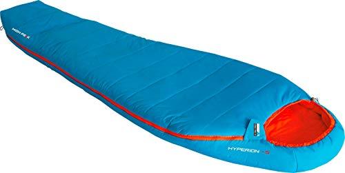High Peak Hyperion 2020 Quechua - Saco de dormir, color azul y naranja