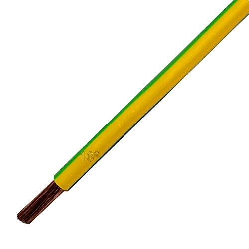 Lapp flexible Verdrahtungsleitung H07V-K GNYE 1x16mm² grün/gelb *Meterware*