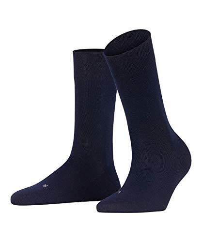 FALKE Damen Sensitive Intercontinental W SO Socken, Blau (Dark Navy 6379), 35-38 (UK 2.5-5 Ι US 5-7.5)