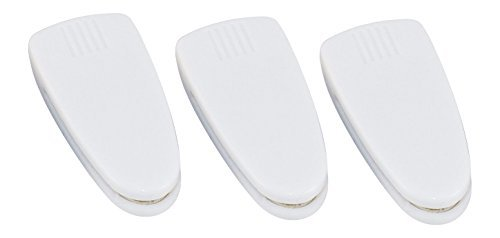 Tom David Lewis 3 PK Compact Disc Clean Tool - Helps Restore CDs, DVDs, Games, Movies - White.
