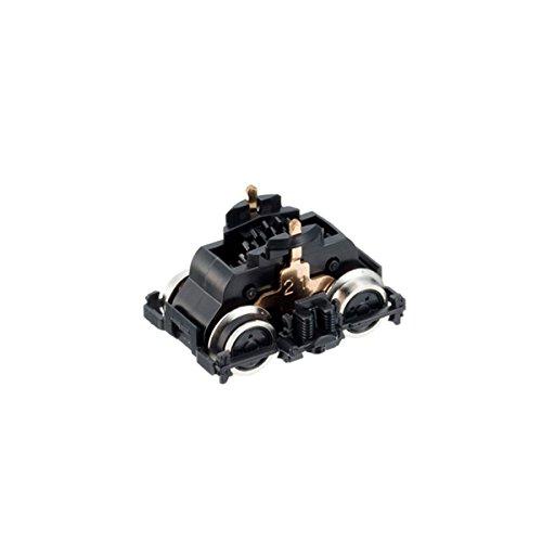 ■[取寄] トミックス [0477] DT131E形 動力台車(黒台車枠・黒輪心・銀車輪・2軸・輪心付)(DE10形用)(1個入) NゲージTOMIX鉄道模型パーツ