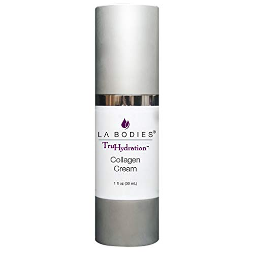 LAB Hydrolyzed Collagen Face Cream w/Grape Seed Oil | Anti-Aging Anti-Wrinkle | Moisturizing | For Acne Prone Skin (1 fl oz)