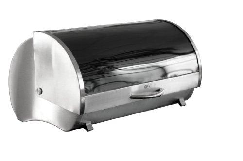 GEFU GE33600 Rondo Boîte à Pain Acier Inoxydable Inox 42,3 x 22,3 x 27 cm