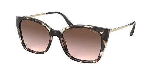 Prada Women's 0PR 12XS Sunglasses, BROWN HAVANA/BROWN SHADED, 54