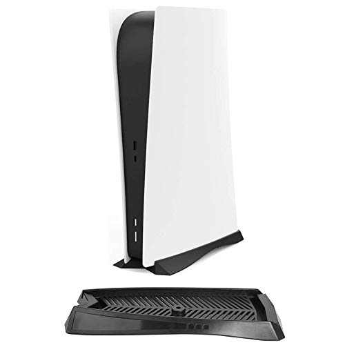 Vertical Stand Holder for PS5 Digital Edition Console with Built-in Cooling Vents and Non-Slip Feet for Sony Playstation 5 DE Console