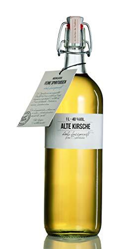 BIRKENHOF Brennerei | Alte Kirsche - feine holzfassgereifte Spirituose | (1 x 1l ) - 40 % vol.