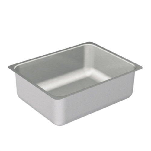 Moen G20193 2000 Series Encastrables en acier inoxydable 18 x 23 x 6,5 0 trous pour évier de cuisine avec bol