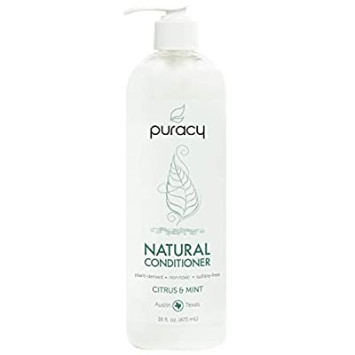 Puracy Natural Conditioner, Silicone-Free, Plant-Based, For Silky Smooth Hair