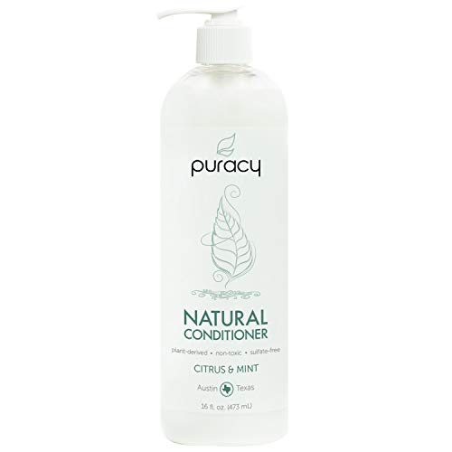 Puracy Natural Conditioner, Hypoallergenic, Non-Toxic, All Hair Types, Citrus &Amp; Mint , 16 Oz