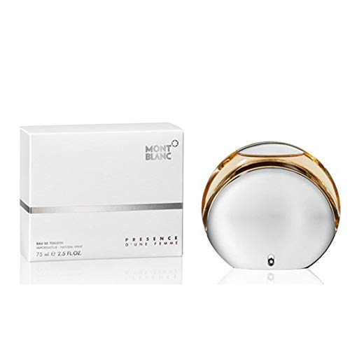 Presence D'Une Femme De Mont Blanc Eau De Toilette Feminino 75 ml