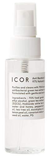 ICOR(イコ)Anti bacterial spray 60ml
