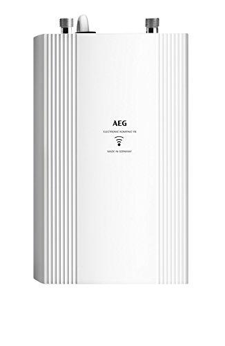 AEG Haustechnik Elektronischer Durchlauferhitzer DDLE Kompakt FB 11/13 für die Küche, umschaltbar 11/13,5 kW, mit Fernbedienung, 230769