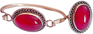 Red set - Bracelet& Ring