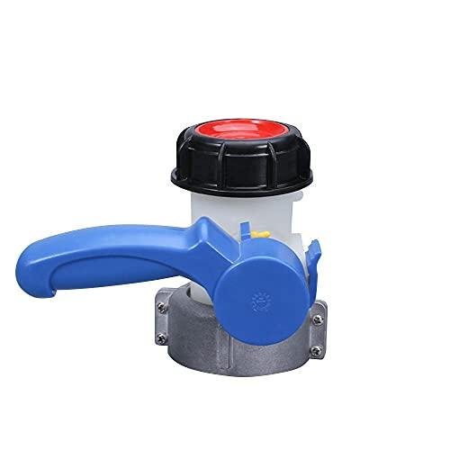 XTHY Válvula de Mariposa Activa/integrada de plástico DN40 / DN50 / DN80 para contenedor de Tanque IBC Adaptador de Tanque IBC Interruptor 1000L